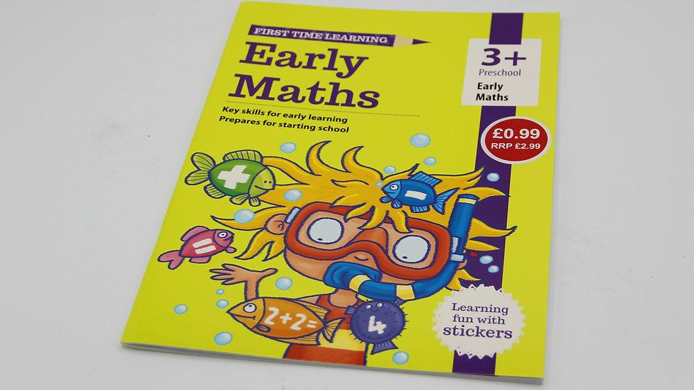 Early Maths Workbook 3+