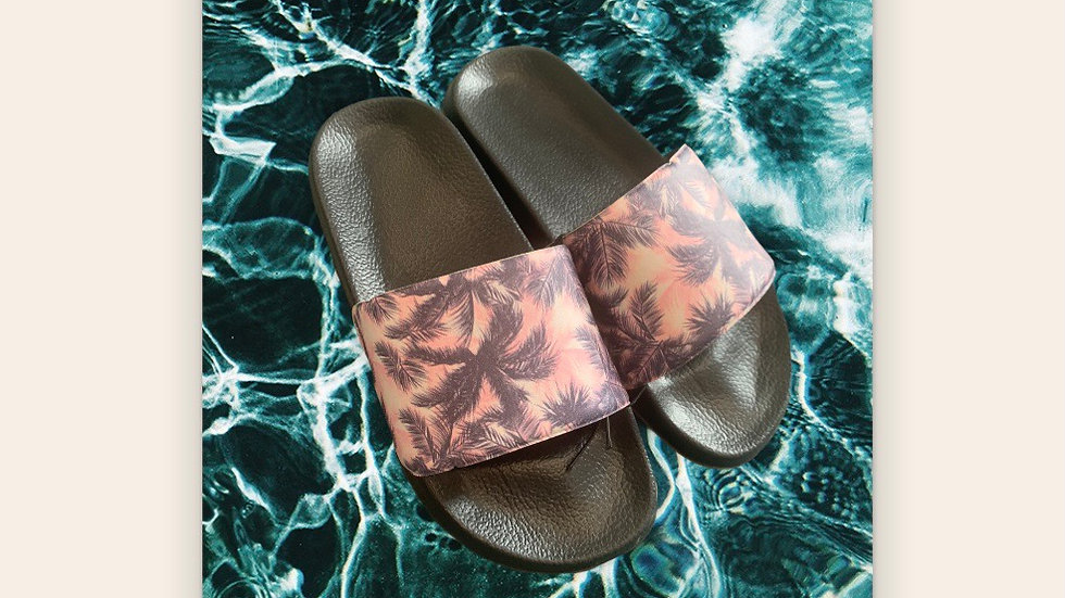 Girls Tropical Sliders