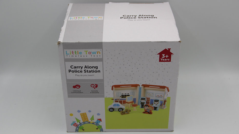 Carry Along Police Station Toy