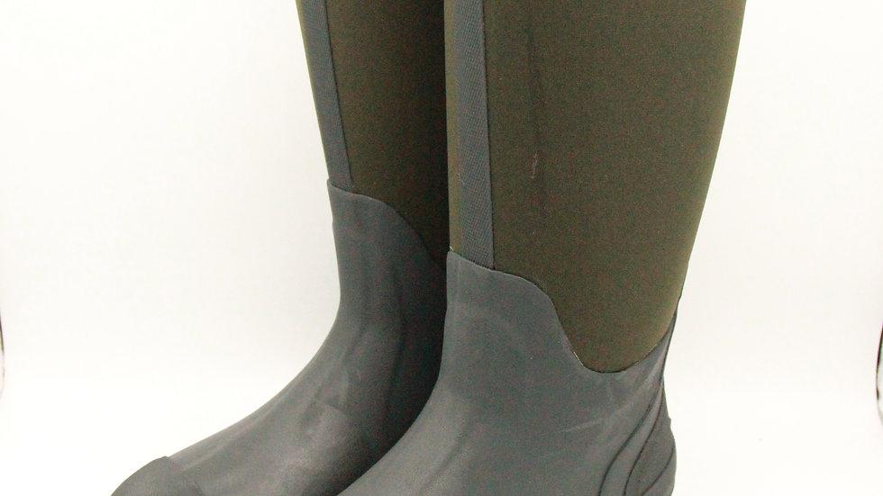 Green Neoprene Boots