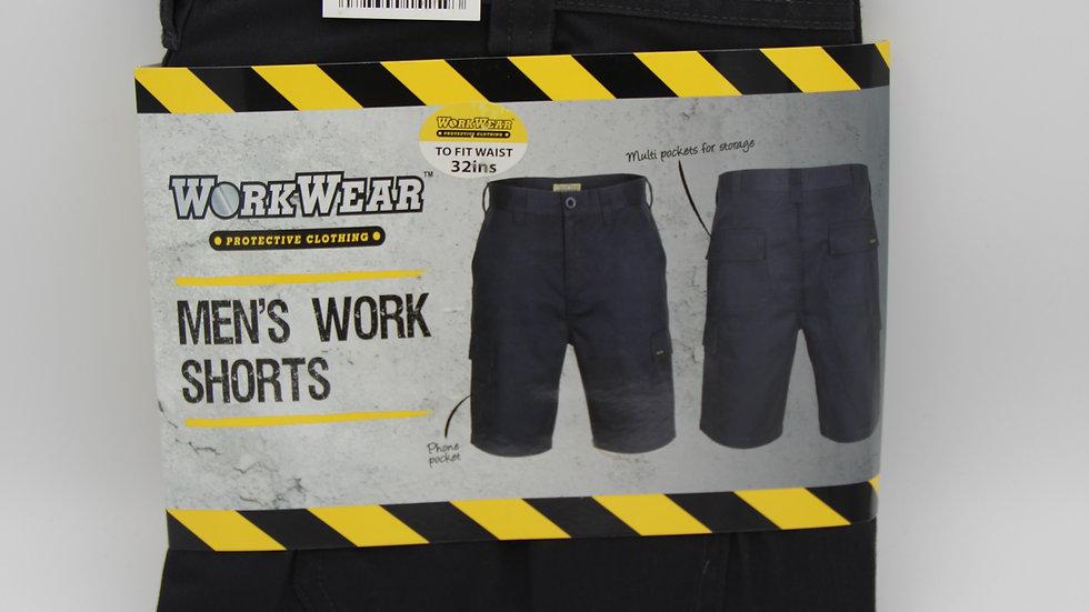 Dark Grey Men's Work Shorts