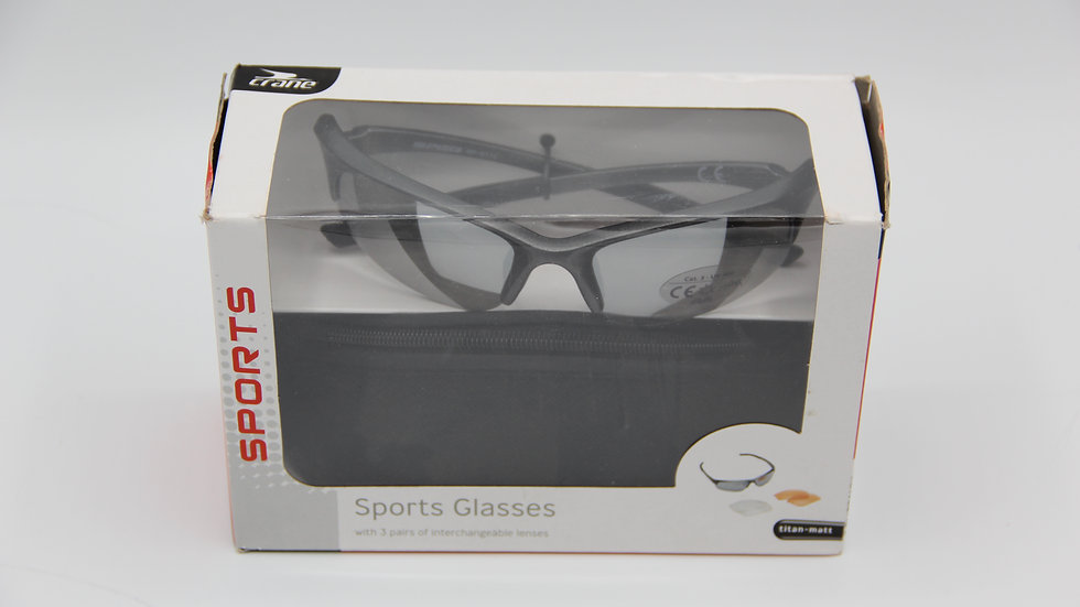 Sports Glasses With Case