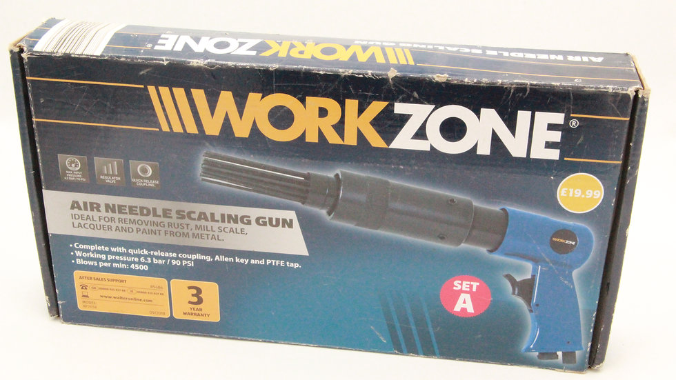 Air Needle Scaling Gun