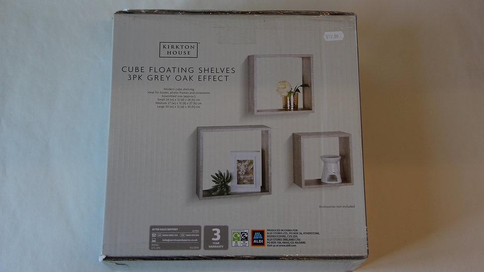 Cube Floating Shelves