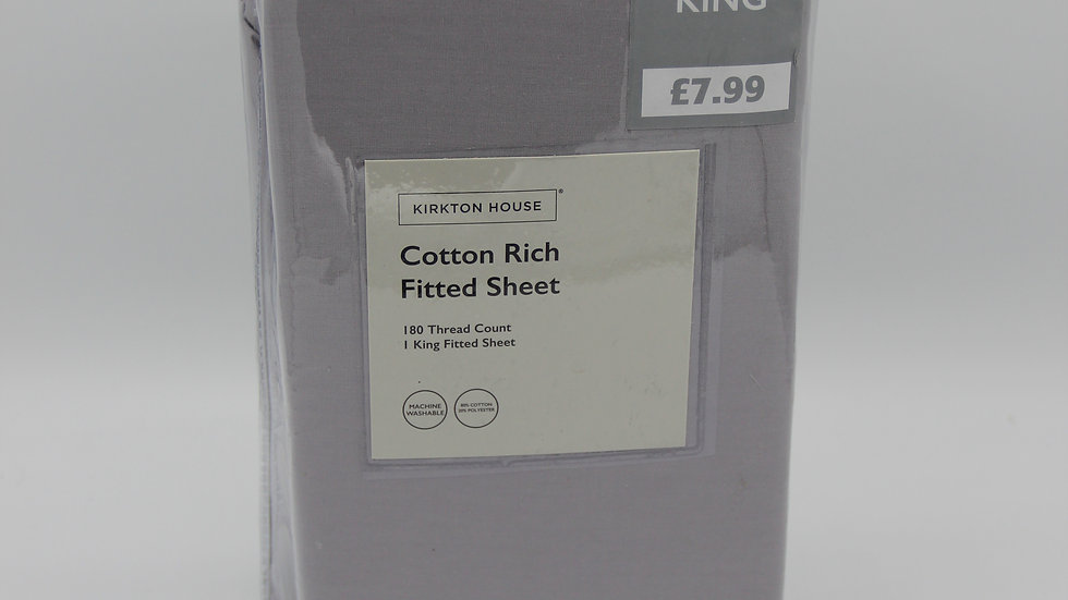 King Cotton Rich Fitted Sheet