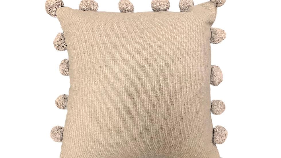 Grey Bobble Cushion