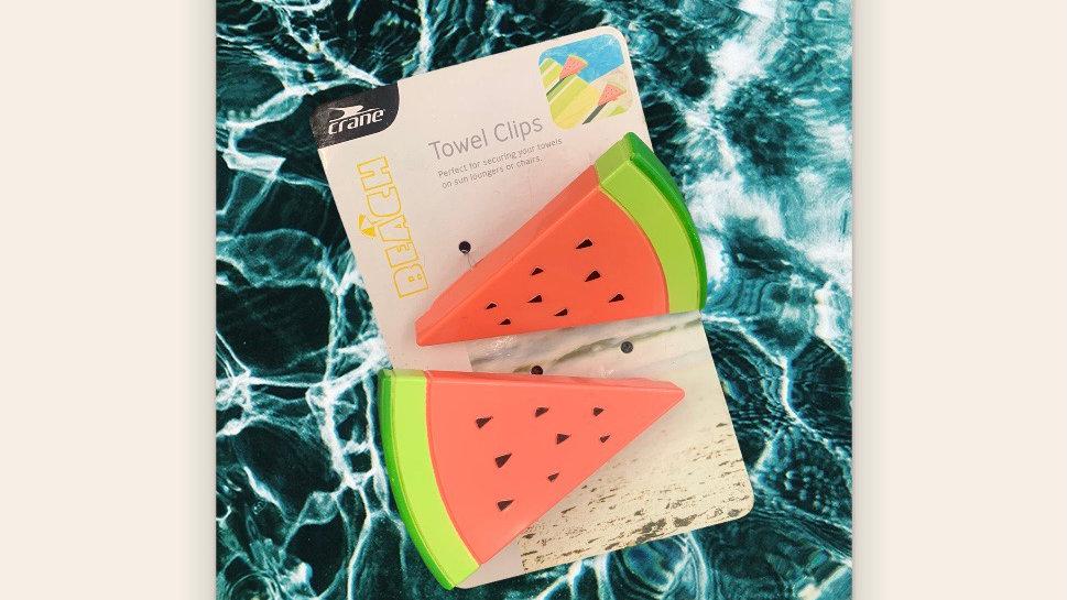 Towel Clips Watermelon