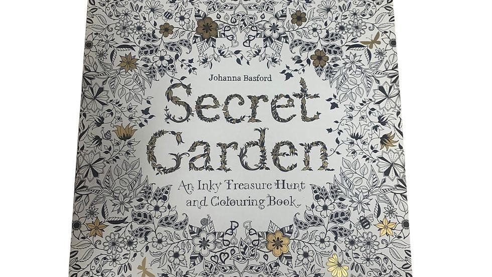 Secret Garden Adults Colouring Book