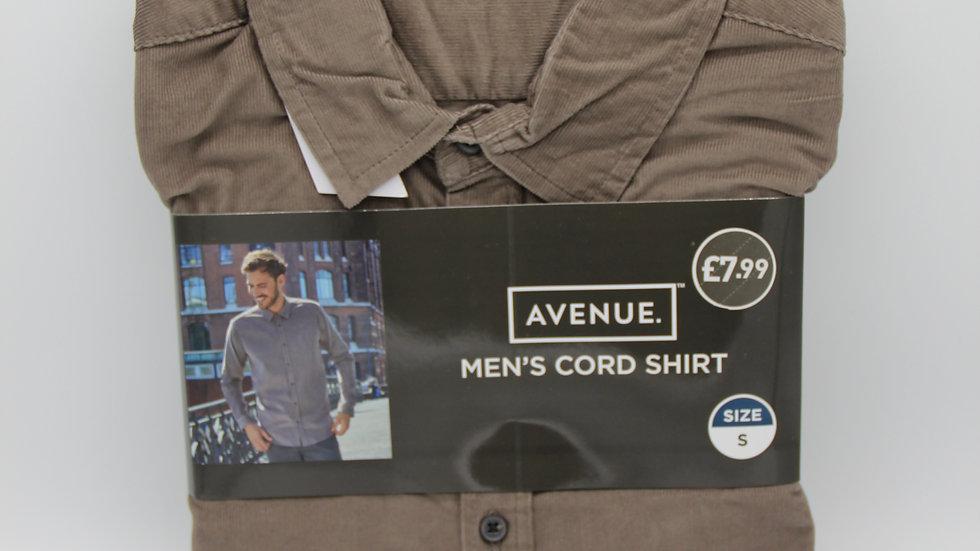 Men's Brown Cord Shirt