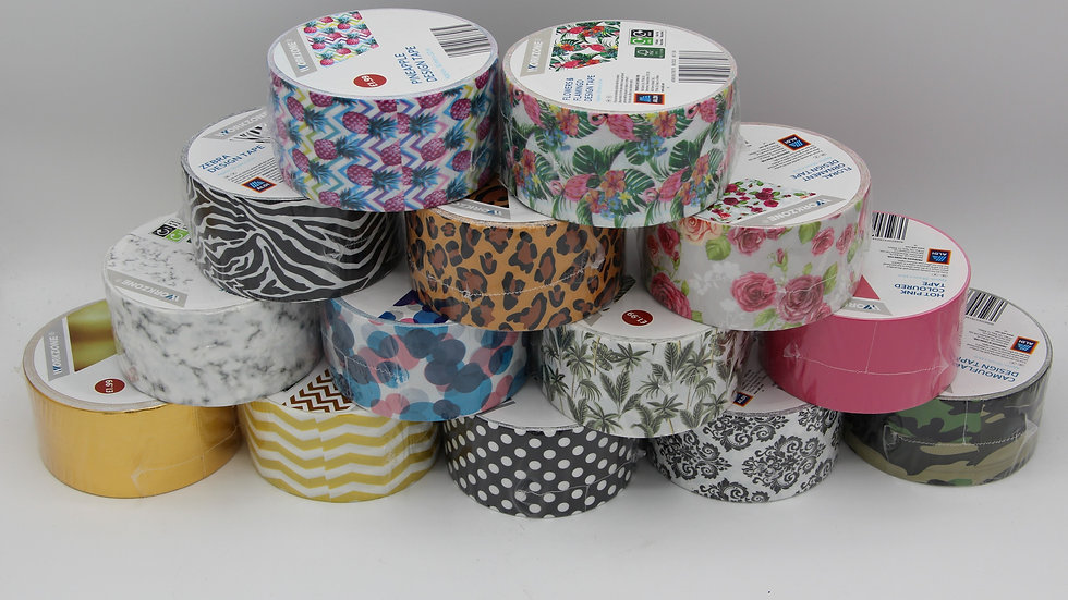 Patterned Duct Tape