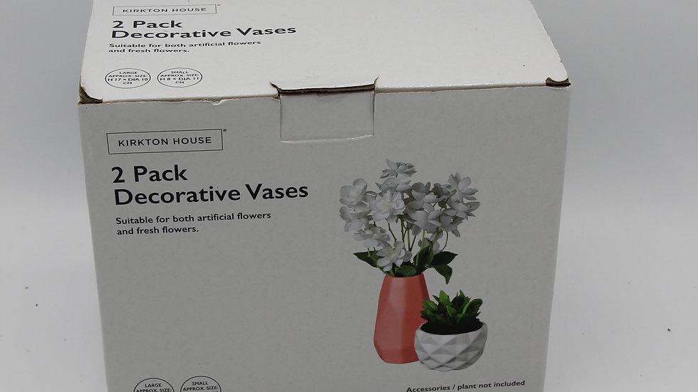 2 pack of Decorative Vases