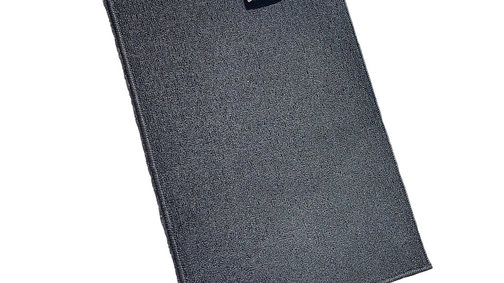Black Washable Mat