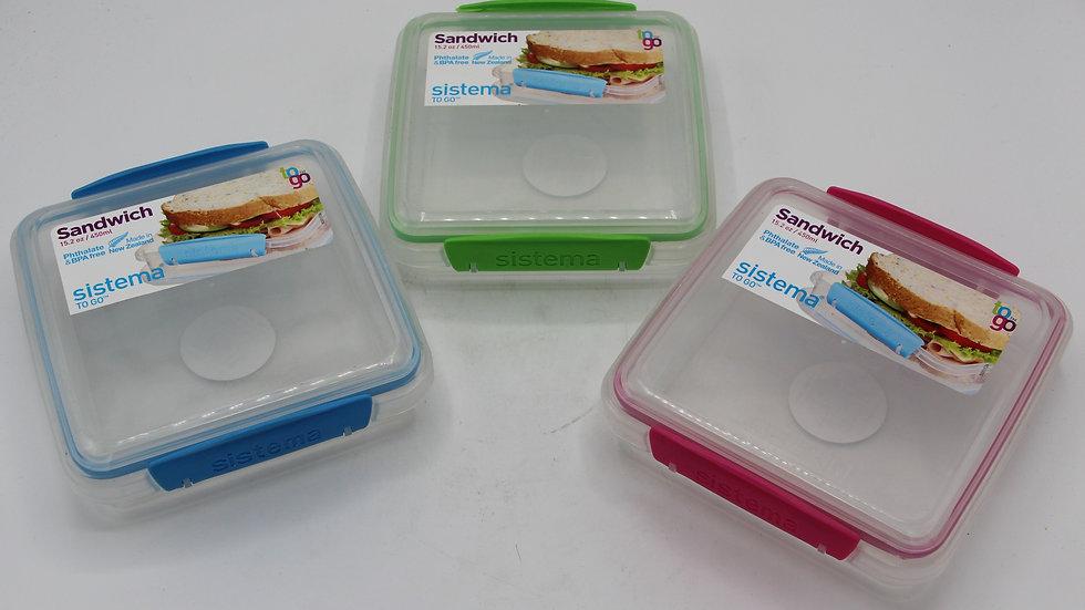 Sandwich Storage