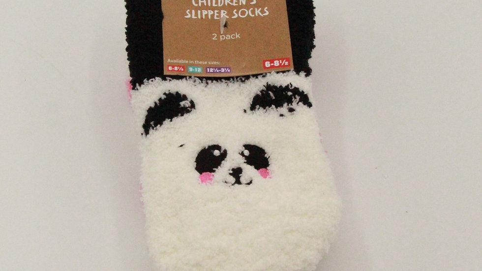Children's Slipper Socks - Panda