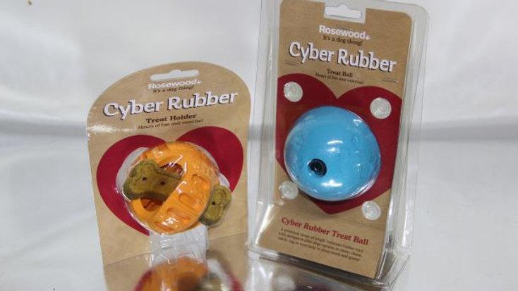 Cyber Rubber Treat Ball