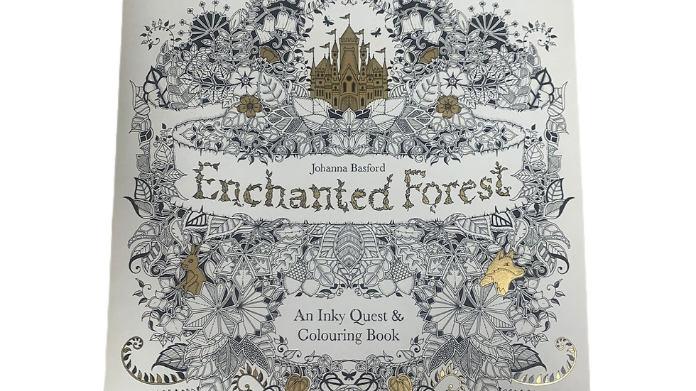 Enchanted Forest Adults Colouring Book