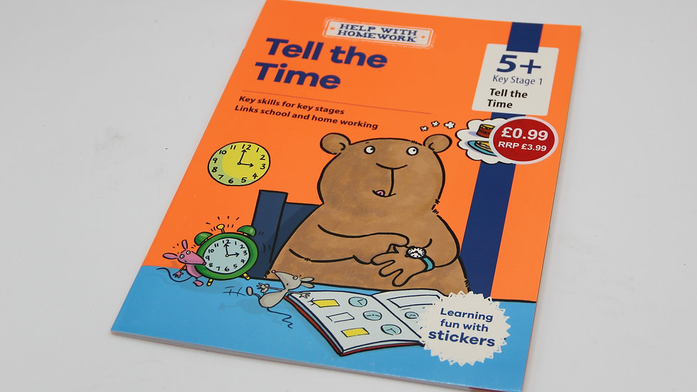 Tell The Time Workbook 5+