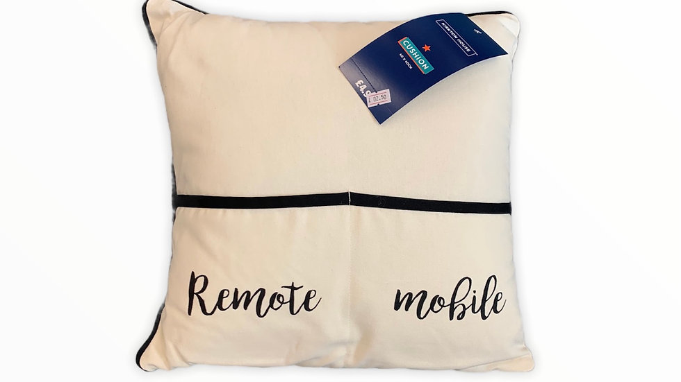Sofa Cushion with Pockets