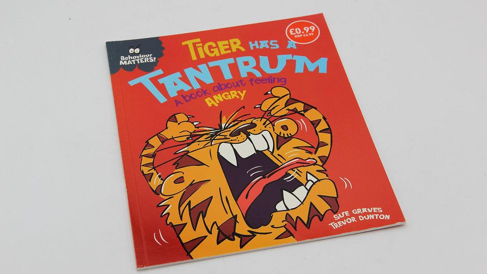 Tiger Has A Tantrum Book