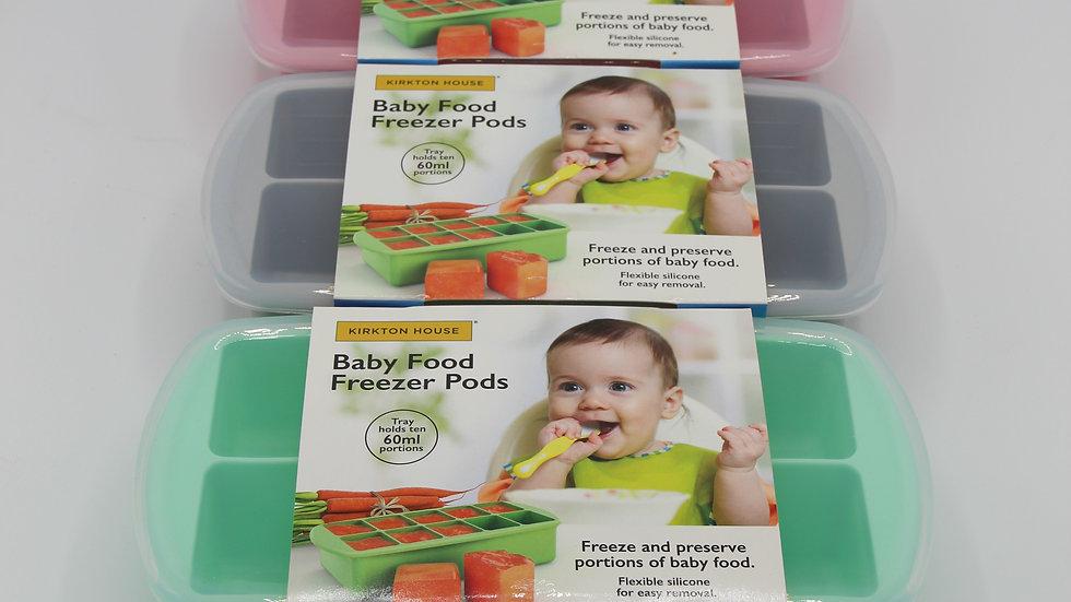 Baby Food Freezer Pods
