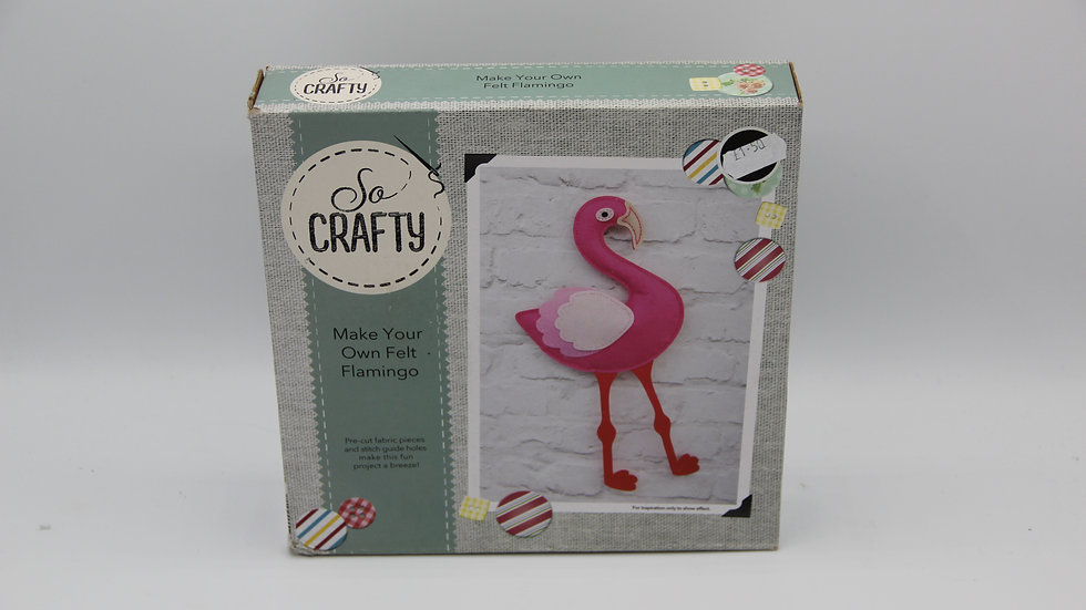 Make Your Own Felt Flamingo