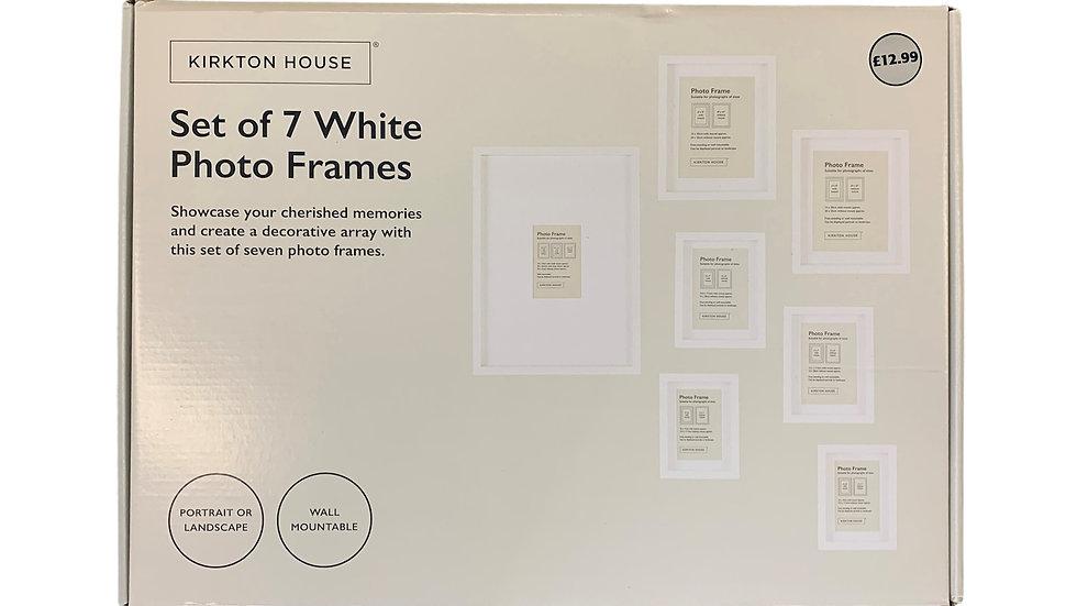 Set of 7 Photo Frames