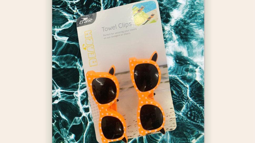 Towel Clips Sunglasses