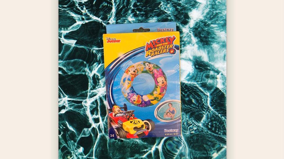 Mickey Mouse Swim Ring