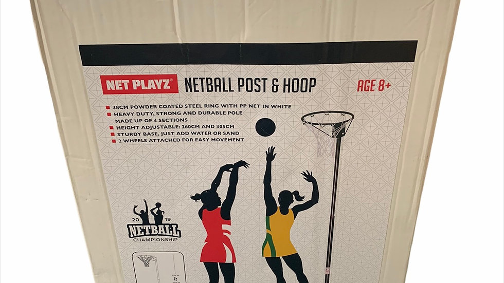 Netball Post & Hoop