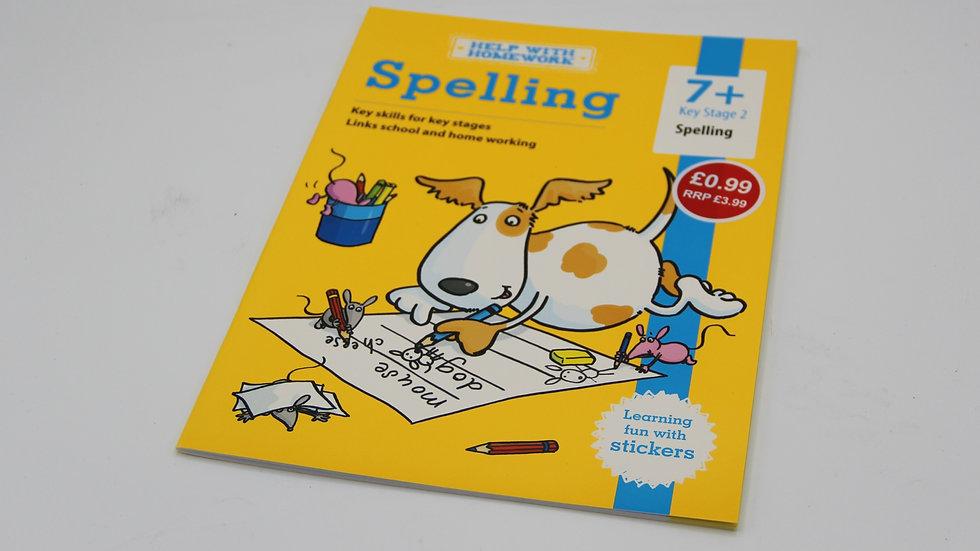 Spelling Workbook 7+