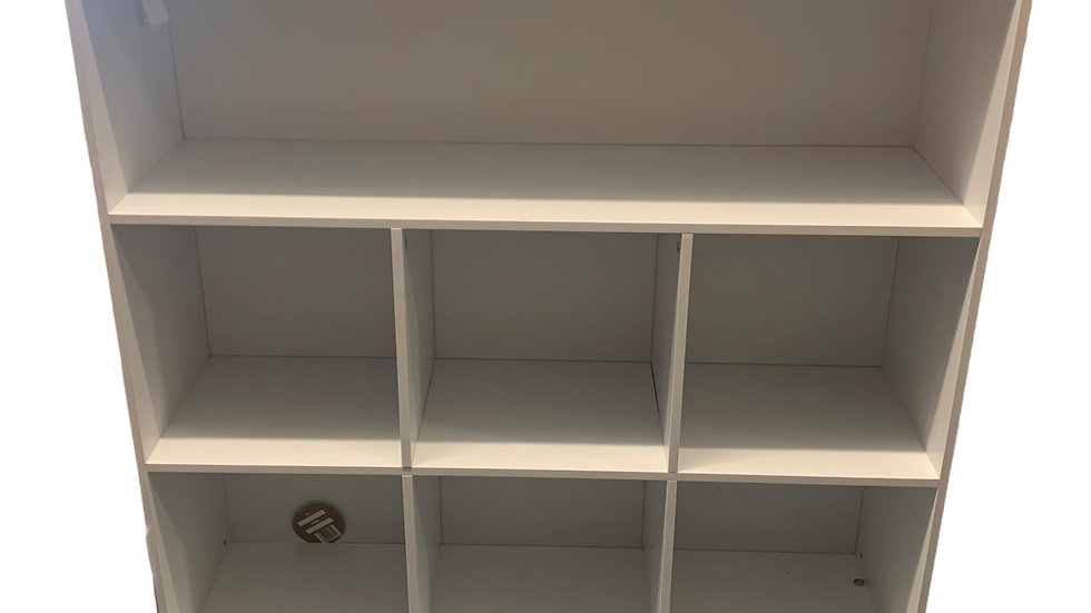 White Square Shelf Unit