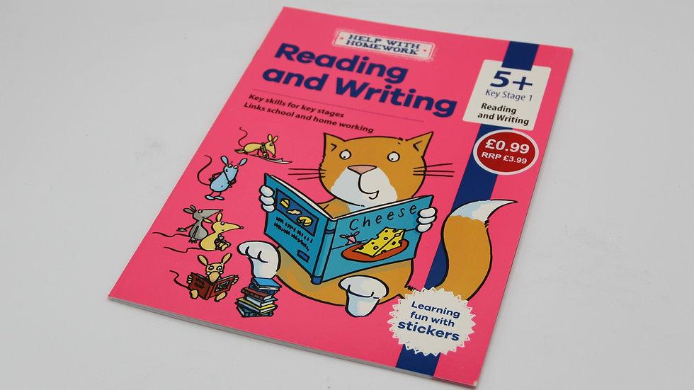 Reading & Writing Workbook 5+