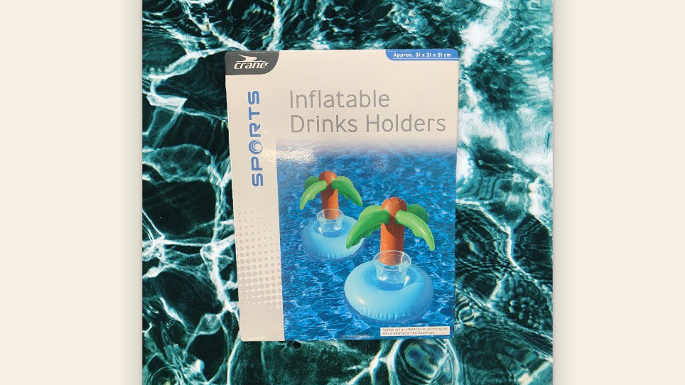 Inflatable Drinks Holder Tropical Island