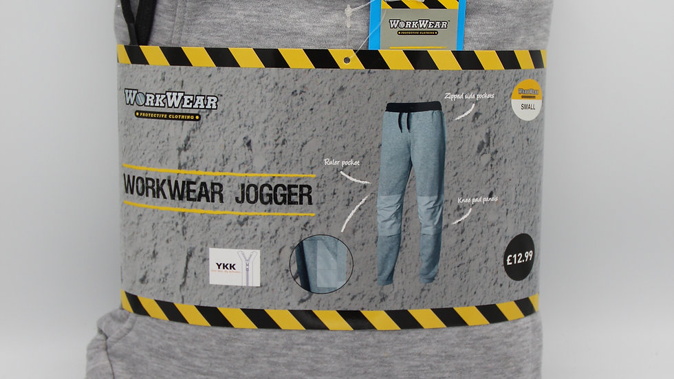 Men's Workwear Grey Joggers