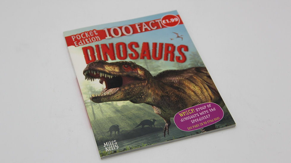100 Facts Dinosaurs Book