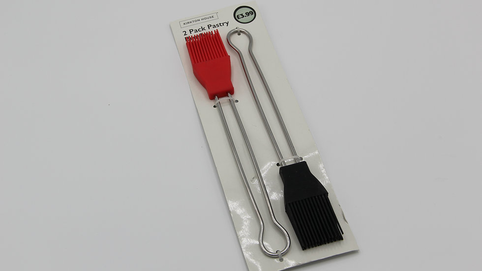 2pk Pastry Brushes
