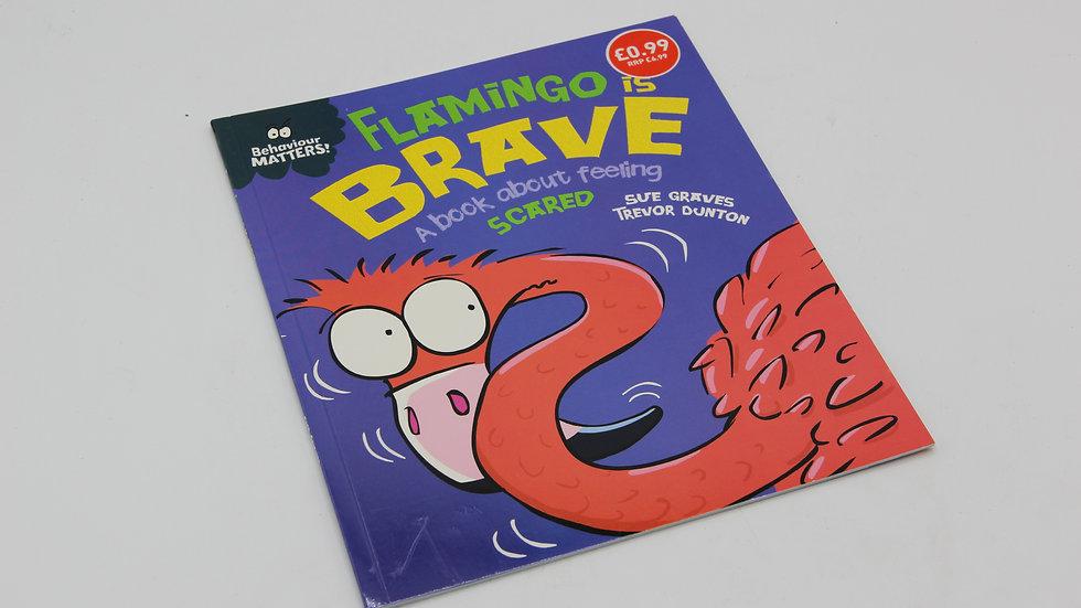 Flamingo Is Brave Book