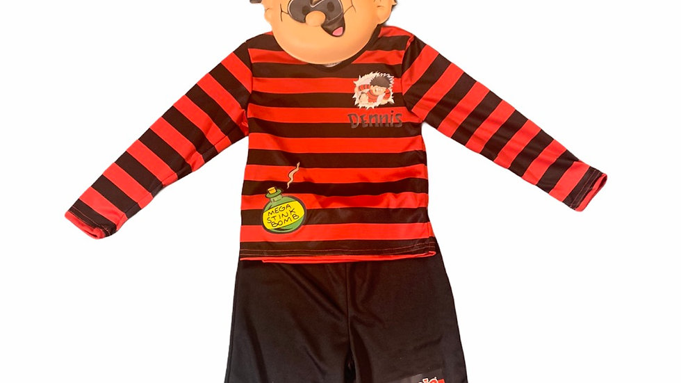 Dennis Costume - Dennis the Menace and Gnasher