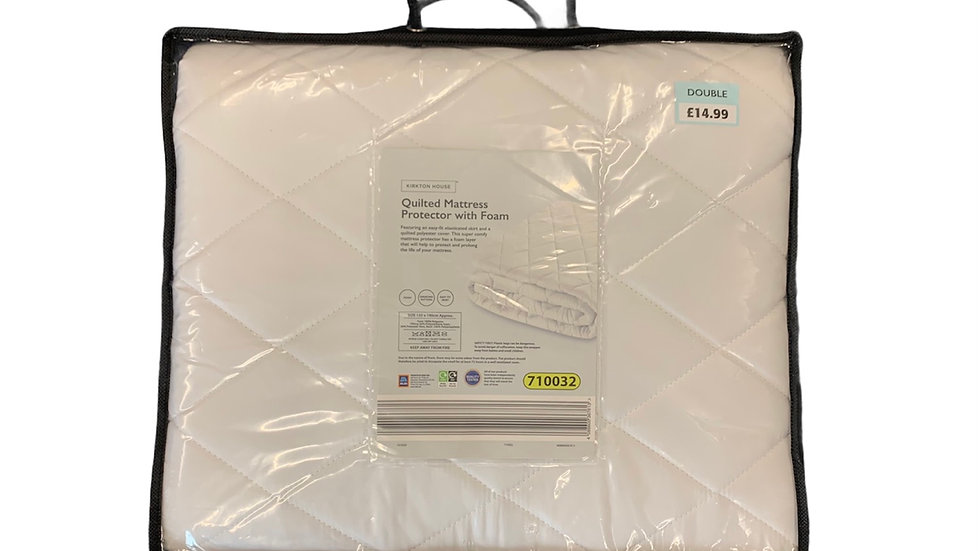 Quilted Mattress Protector With Foam