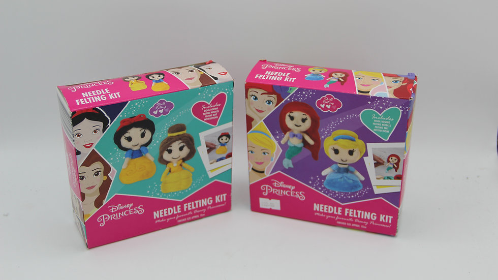 Disney Princess Needle Felting Kit