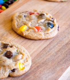 M&Ms Small cookies