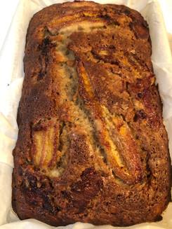Caramelized Banana bread. kosher dairy o