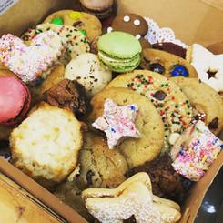 Assorted cookies box