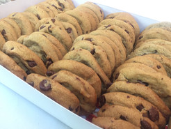 Small chocolate chips cookies
