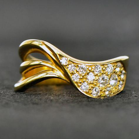 Diamond Waltz Ring