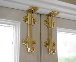 Replacement brass window locks