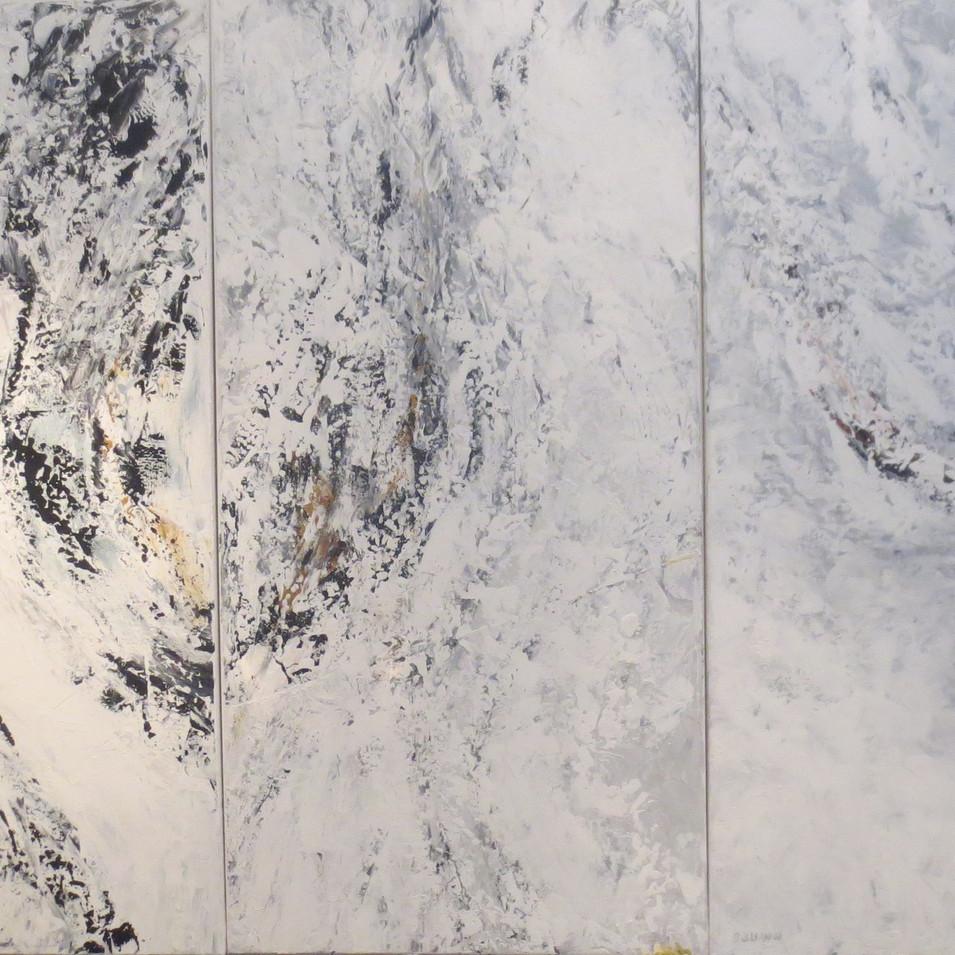 """MOUNTAIN (triptych)  48"""" x 72"""""""