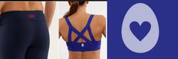 Logo for Yoga wear company