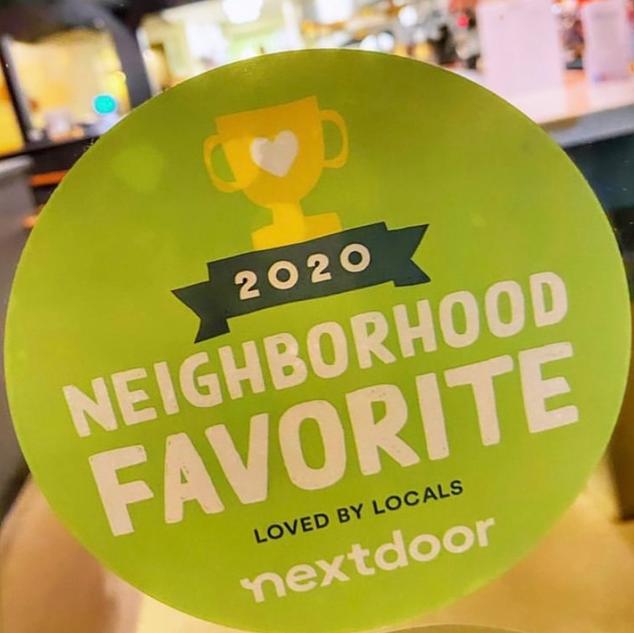 Next Door Neighborhood Favorite