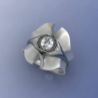 Vintage Ring Modified to Modern Design